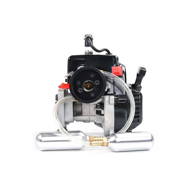 enginediy RC Engine Rovan 29cc 4-Bolt Motor Engine with Booster Pump for HPI Baja 5b 5T King Motor Buggy LOSI FG GoPed