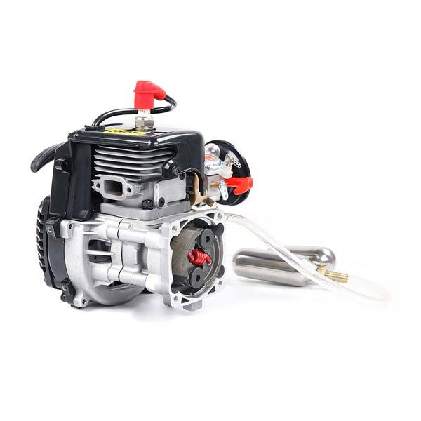 enginediy RC Engine Rovan 32cc Engine with Booster Pump Kit Fit Rovan HPI KM BAJA LT LOSI RC Car