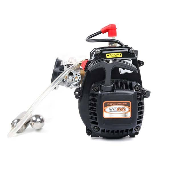 Rovan 32cc Engine with Booster Pump Kit Fit Rovan HPI KM BAJA LT LOSI RC Car - enginediy