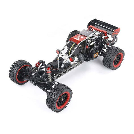 enginediy RC Car Rovan Baha320 Gas BAJA Buggy 1/5 Scale 32CC Gas Truck READY-TO-RUN - Red