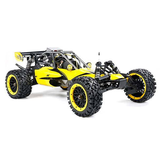 enginediy RC Car Rovan BAHA320 32CC Gas BAJA Buggy 1/5 Scale Gas Truck READY-TO-RUN - Yellow