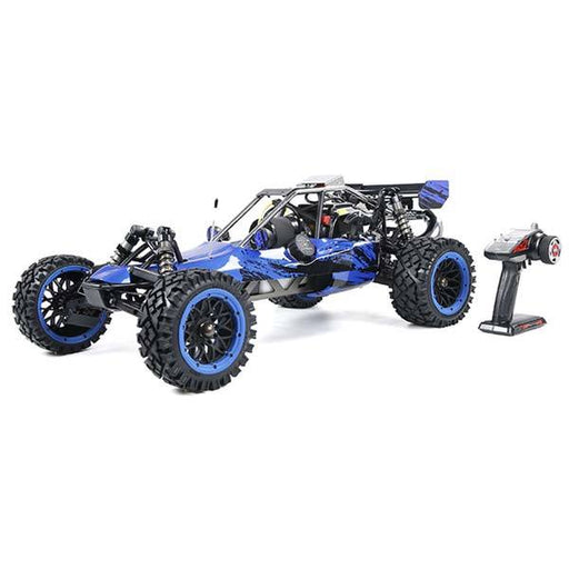 enginediy RC Car Rovan Baha320 Gas BAJA Buggy 1/5 Scale 32CC Gas Truck READY-TO-RUN - Blue