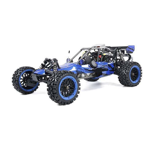 Rovan Baha320 Gas BAJA Buggy 1/5 Scale 32CC Gas Truck READY-TO-RUN - Blue - enginediy