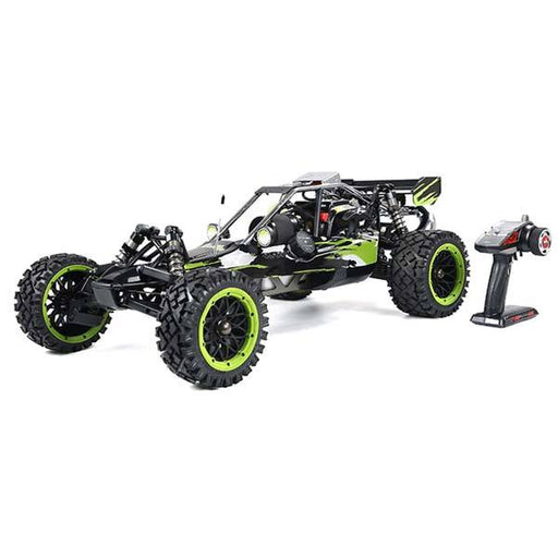 Rovan Baha320 Gas BAJA Buggy 1/5 Scale 32CC Gas Truck RTR Baja Crawler - Green - enginediy