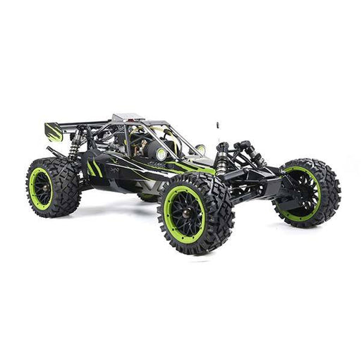 enginediy RC Car Rovan Baha320 Gas BAJA Buggy 1/5 Scale 32CC Gas Truck RTR Baja Crawler - Green