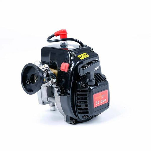 enginediy RC Engine Rovan 30.5cc 4-Bolt Motor Engine with Walbro carburetor for HPI Baja KM RC Car