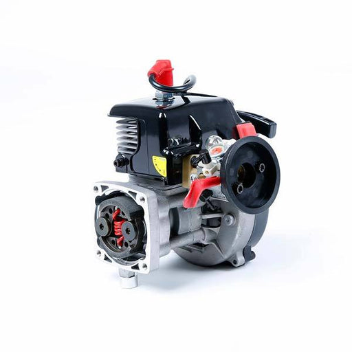 Rovan 30.5cc 4-Bolt Motor Engine with Walbro carburetor for HPI Baja KM RC Car - enginediy