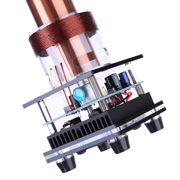 enginediy Engine Models Singing Tesla Coil Music Kit Plasma Loudspeaker Wireless Transmission Experiment Desktop Toy Model - Enginediy