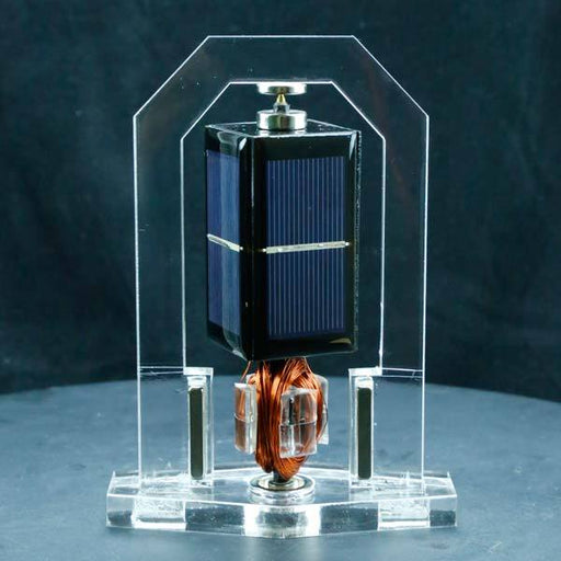 Solar Magnetic Levitation Model Levitating Mendocino Motor Educational Model Vertical Stand - Enginediy - enginediy
