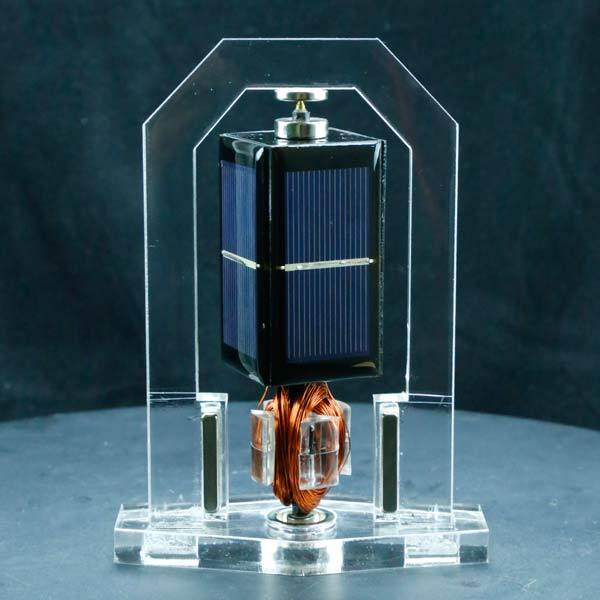 enginediy Engine Models Solar Magnetic Levitation Model Levitating Mendocino Motor Educational Model Vertical Stand - Enginediy