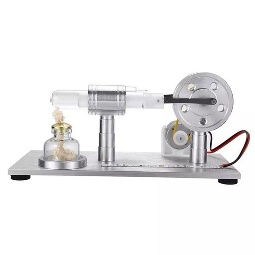 Stirling Engine Electricty Generator with Colorful Light Gift for Collection - Enginediy