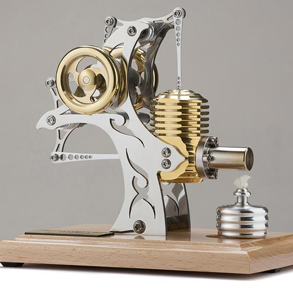 enginediy Single Cylinder Stirling Engine Stirling Engine High Precision Single Cylinder Stirling Engine Model Gift Collection