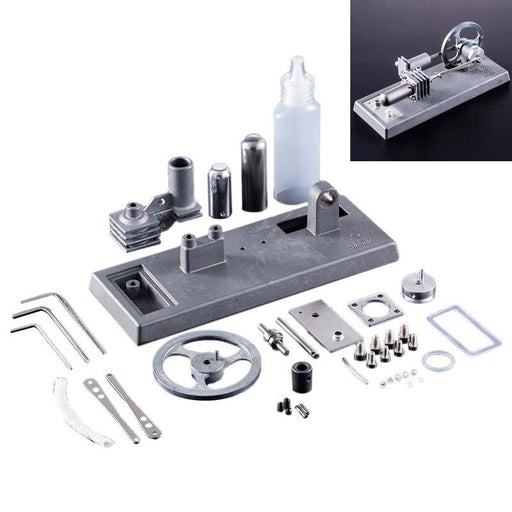 enginediy DIY Engine Stirling Engine Kit All-metal Stirling Engine DIY Kit Set Toy - Enginediy