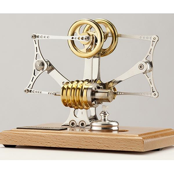 enginediy Single Cylinder Stirling Engine Stirling Engine Kit High-end Precision Bird Flyer Unassembled Mechanical Engine Kit - Enginediy