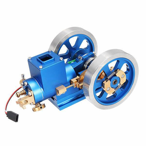 enginediy Engine Models Stirling Engine Kit Hit and Miss Engine Full Metal Internal Combustion Engine DIY Gift for Collection - Enginediy