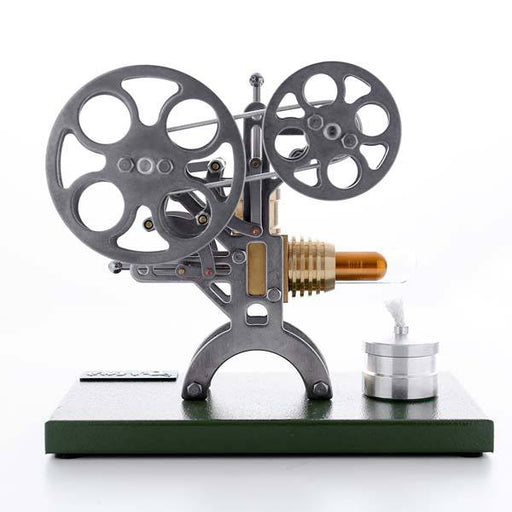 enginediy DIY Engine Stirling Engine Kit Unassembled Retro Film Projector Engine Kit - Perfect Gift Choice