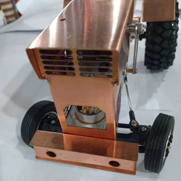 enginediy Stirling Engine Vehicle Stirling Engine Kit Tractor Stirling Engine Motor Model for Gift Collection - Enginediy