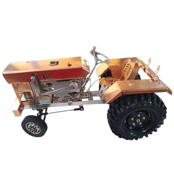 Stirling Engine Kit Tractor Stirling Engine Motor Model for Gift Collection - Enginediy