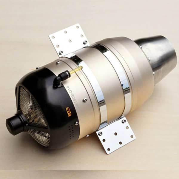 enginediy Engine Models Swiwin SW190B 19kg Turbojet Engine Jet Turbine Engine for RC Jet Plane