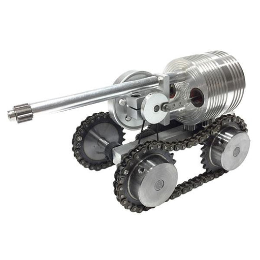 enginediy Stirling Engine Vehicle Tank Stirling Engine Model External Combustion Engine - Enginediy