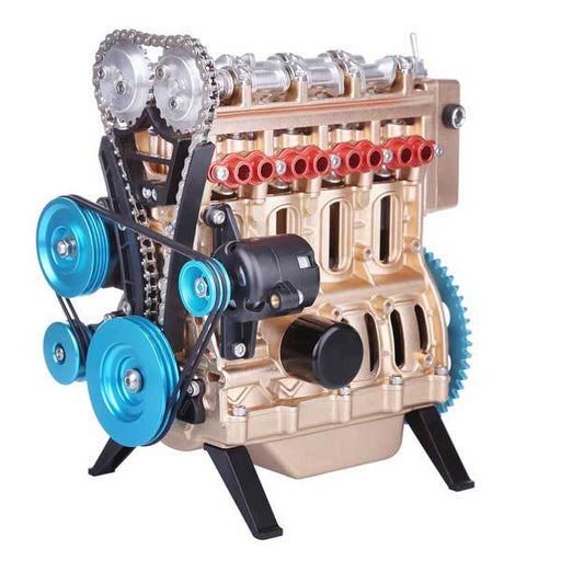 Teching Engine Kit 4 Cylinder Car Engine Assembly Kit Gift Collection DM13-B - enginediy