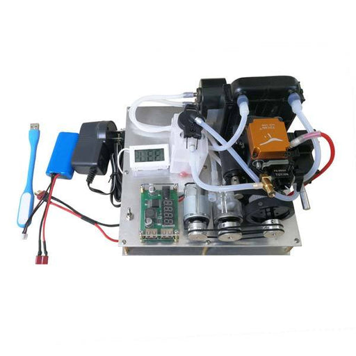 Toyan FS-S100G Water-Cooled Nitro-Methanol Gas Generator Set with Water Pump Radiator - enginediy