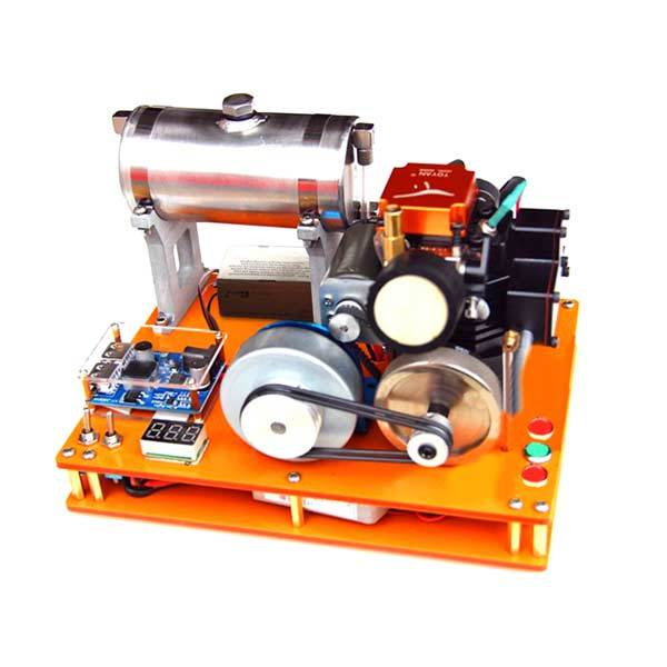 enginediy Toyan 4 Stroke Gasoline Engine 12V DIY Electric Generator Science Toy - Enginediy