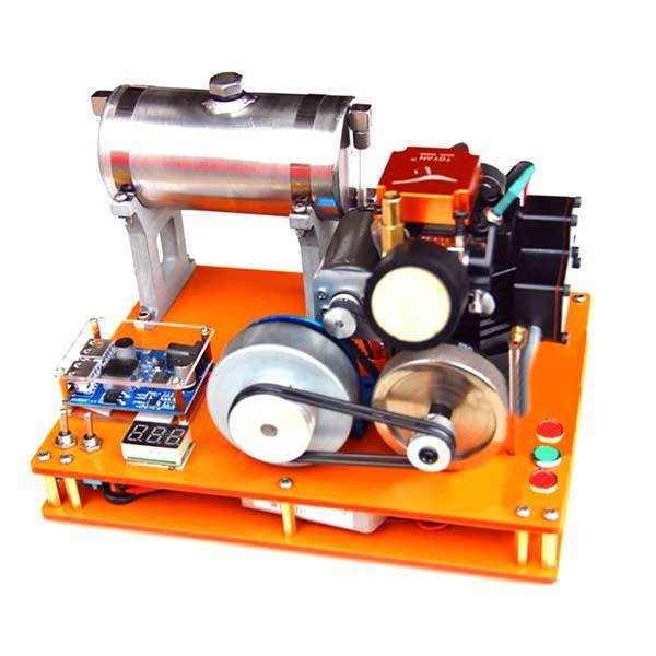 enginediy Toyan 4 Stroke Methanol Engine 12V DIY Electric Generator Science Toy - Enginediy