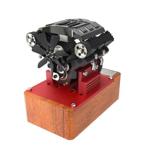 Toyan Engine FS-V400A Four Cylinder 4 Stroke Methanol RC Car Boat Airplane Engine