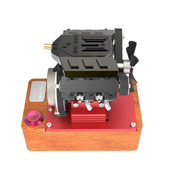 enginediy Engine Models Toyan Engine V4 4 Stroke RC Engine 9600RPM Four Cylinder Methanol IC Engine FS-V400A
