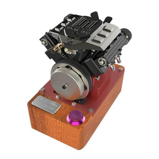Toyan Engine V4 FS-V400A 4 Cylinder 4 Stroke Methanol RC Engine Model - Gift Collection - enginediy