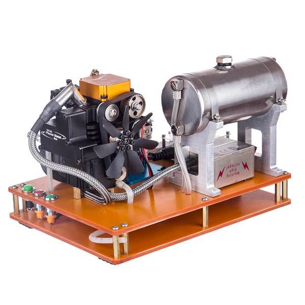 enginediy RC Engine Toyan FS-S100G 4 Stroke Gasoline Engine 12V DIY Electric Generator Science Toy - Enginediy