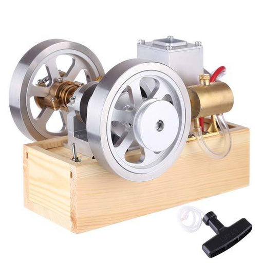 Upgrade Hit & Miss Gas Engine Full Metal IC Engine With Base Collection Gift - enginediy