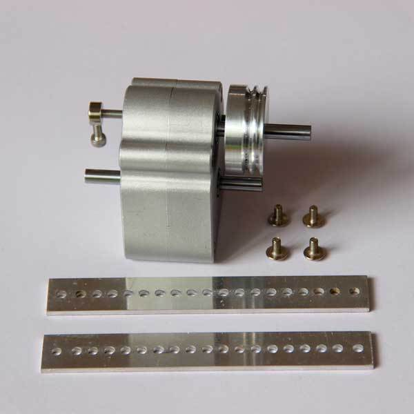 Upgrade Sealed Gearbox with Pulley Modify Kit for Toyan Engine in RC Car