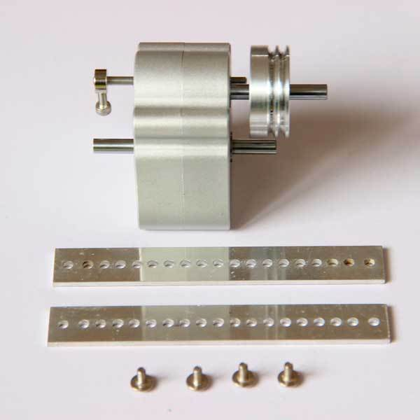 Upgrade Sealed Gearbox with Pulley Modify Kit for Toyan Engine in RC Car - enginediy