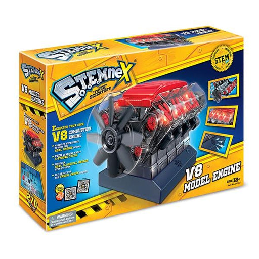 V8 Engine Model Kit - Build Your Own V8 Engine - Science Experiment STEM Toy - Enginediy - enginediy