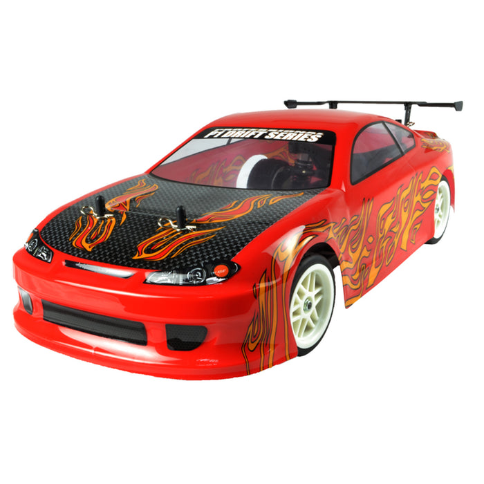 VRX RH1003 RC Car  1/10 Scale 2.4GHz Wireless RC Model Car 4WD Nitro RTR Vehicle with Force.18 Methanol Engine
