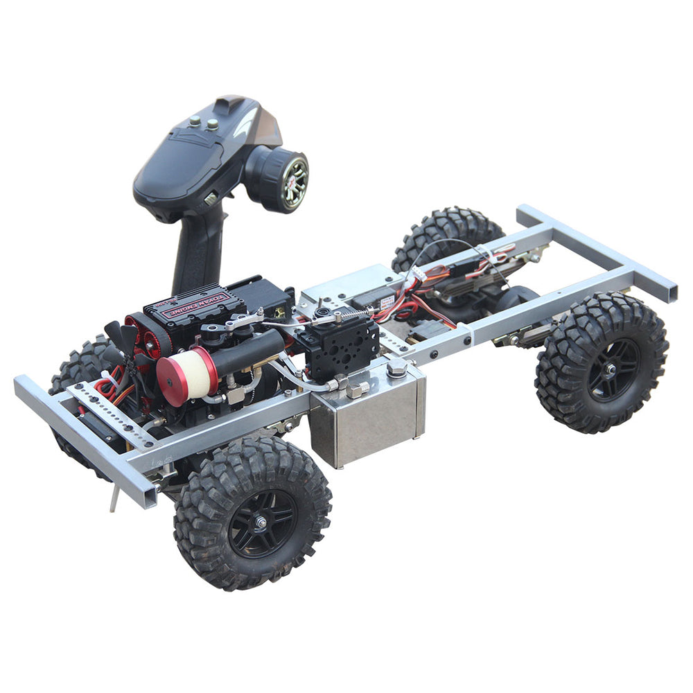 1: 10 2.4G 4CH Nitro RC Car Off-road Crawler Vehicle with TOYAN FS-L200 Inline 2-cylinder 4-Stroke Engine - RTR Version