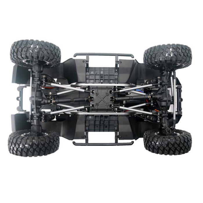 YK 4103 1/10 2.4G 6CH Off-road Vehicle 4WD RC Climbing Car Electric Remote Control Toy Car - enginediy