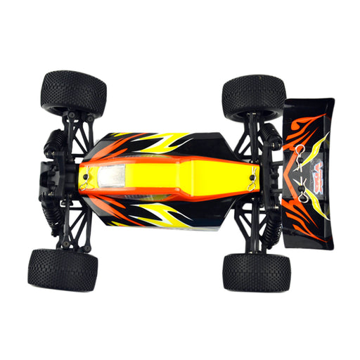 VRX RH1818 1/18 Scale 4WD RC Car Brushed Off-road Buggy 2.4GHz Radio Remote Control Car for Kids - R0145 Yellow - enginediy