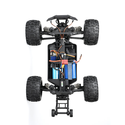 HAIBOXING 16889A 1:16 45KM/H 4WD High Speed Electric Vehicle 2.4 GHz All-Terrain RC Car Brushless Waterproof Off-Road Truck (RTR) - enginediy