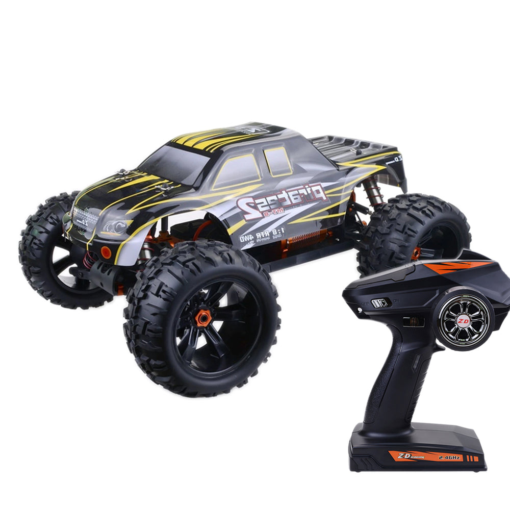 ZD Racing V3 1/8 2.4G 4WD Brushless Motor RC Car Monster Off-road Truck - RTR Version - enginediy