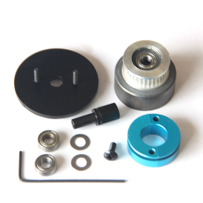 Single Synchronous Pulley Clutch Assembly Kit for Toyan FS-L200 Two-cylinder Four-stroke Methanol Engine Model - enginediy