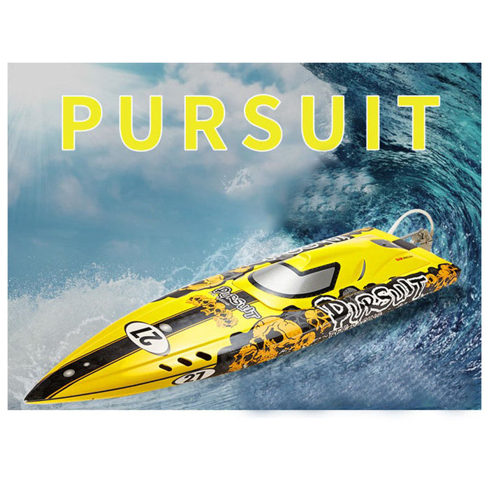 TFL 1106Z RC Electric Boat Pursuit Racing Boat 3660/1620KV Motor 120A ESC RC Model Boat (ARTR) - Shaft Bracket Version