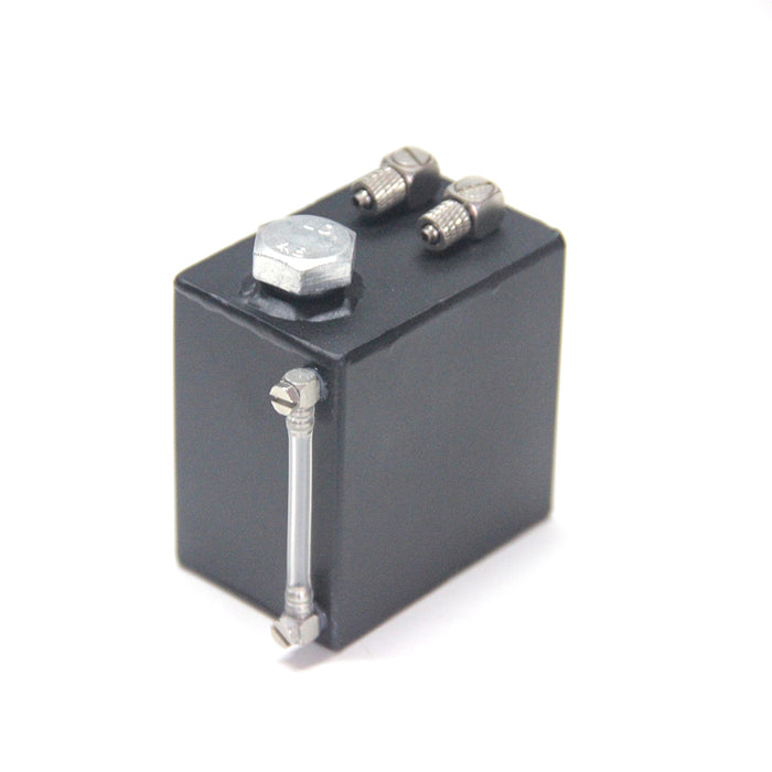 110ml Metal Fuel Tank with Oil Level Display for Engine Model Gasoline Powered Model RC Cars, Trucks, Vehicles & Boats - enginediy