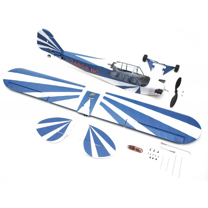 1100mm J3 Cub RC Plane Electric Airplanes Model Assembly Upper Single Wing Fixed-wing Aircraft - PNP - enginediy