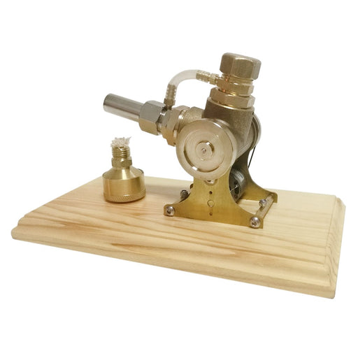 Stirling Engine Kit V-shape Single-cylinder Stirling Engine Model with Double Flywheel - enginediy