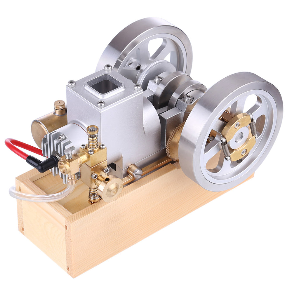 M94 Upgraded Horizontal Water Cooled Gasoline Hit & Miss Gasoline Combustion Engine Complete Engine with Hand Starter