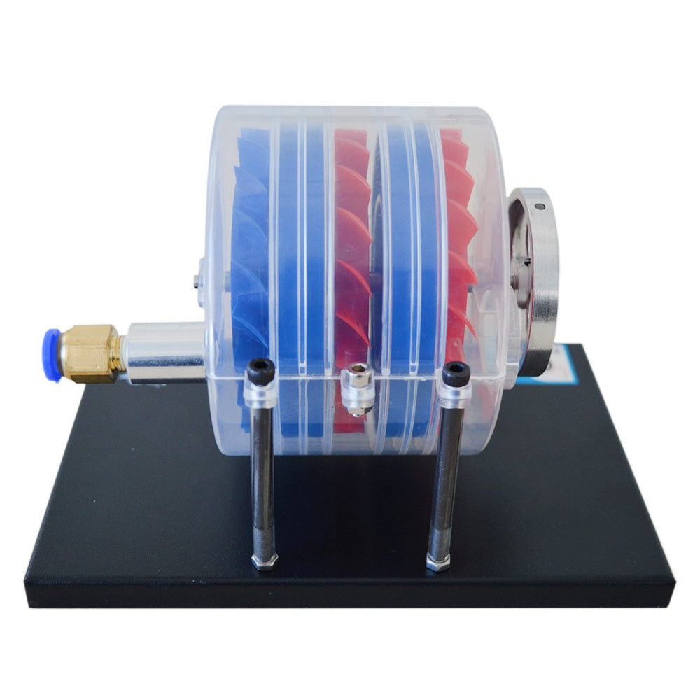enginediy Engine Models Multi Stage Steam Turbine Physics Equipment Demonstration Educational Toy Enginediy