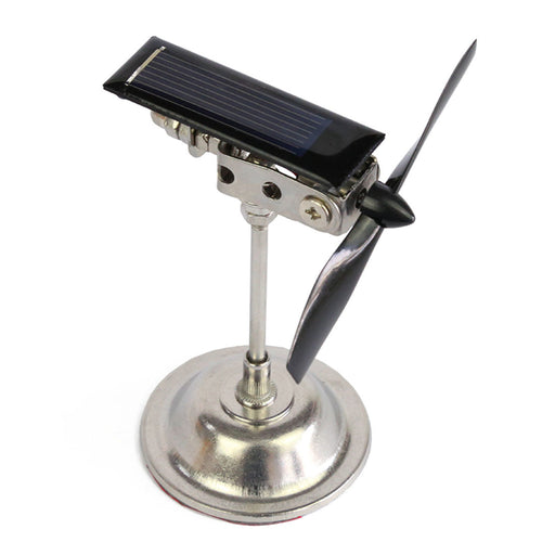 Stark 2 Blades Vehicle-mounted Solar Windmill Motor Solar Toy Scientific Physics Toy - enginediy